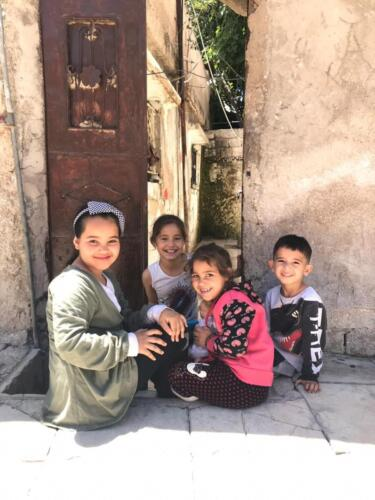 Children in Baqa'a Camp