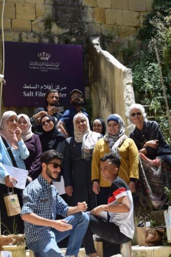 Graduates of the participatory video training workshop